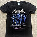 Anthrax - TShirt or Longsleeve - Anthrax - Persistence of Time 30 Years shirt