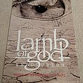 Lamb of God - Resolution poster (signed) Other Collectable