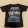 Anthrax - New York 'Worship Music' 2011 shirt