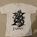 X Japan - TShirt or Longsleeve - X Japan - dragon logo shirt (white)