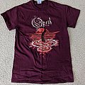 Opeth moon/tentacle shirt (red)