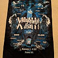 ProgPower USA XVIII 2017 poster flag (signed)