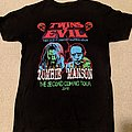 Twins of Evil: Rob Zombie & Marilyn Manson - The Second Coming tour shirt