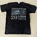 Orphaned Land - Sahara 20th Anniversary 2014 shirt