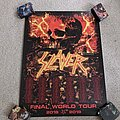 Slayer - Other Collectable - Slayer - The Final World Tour 2018-2019 official poster