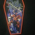 Cruel Force - The Rise of Satanic Might coffin patch