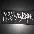 My Dying Bride logo patch