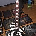 Zakk Wylde's Bullseye miniature guitar