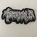 Tomb Mold embroidered logo patch