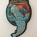 Mastodon - Leviathan shaped woven patch