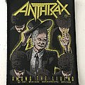 Anthrax - Among the Living vintage woven patch