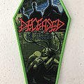 Deceased - The Blueprints For Madness woven patch