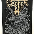 Asphyx printed backpatch