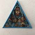 Blue Öyster Cult - Fire of Unknown Origin triangle woven patch