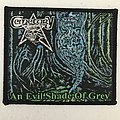 Cemetary - An Evil Shade of Grey woven patch