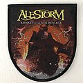 Alestorm - Sunset On the Golden Age woven patch