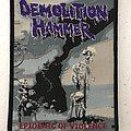 Demolition Hammer - Epidemic of Violence woven patch
