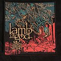 Lamb of God — Ashes of the Wake woven patch