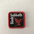 Black Sabbath woven minipatch