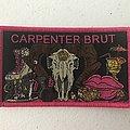 Carpenter Brut - TRILOGY woven patch