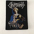 Cryptopsy - None So Vile woven patch