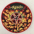 Anthrax - Worship Music woven patch