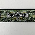 Bolt Thrower - Honour Valour Pride woven patch