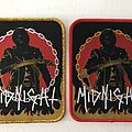 Midnight woven patches