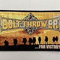 Bolt Thrower - For Victory woven patch