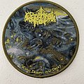 Cerebral Rot — Odious Descent Into Decay woven patch