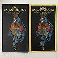 Mastodon - Patch - Mastodon — Crack the Skye woven patches
