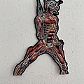 Iron Maiden - Somewhere In Time shaped woven patch