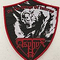 Asphyx — On the Wings of Inferno woven patch