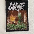 Grave — Into the Grave woven patch