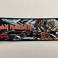 Iron Maiden - The Number of the Beast woven patch strip