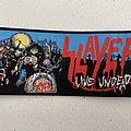 Slayer - Live Undead woven patch strip