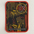 Slayer — Reign In Blood woven patch
