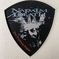 Napalm Death - Fear, Emptiness, Despair woven patch