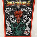 Bolt Thrower — Cenotaph woven patch