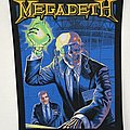 Megadeth - Rust In Peace woven backpatch