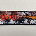 Dio - Holy Diver woven patch strip