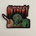 Autopsy - Severed Survival shaped woven patch