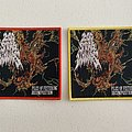 200 Stab Wounds — Piles of Festering Decomposition woven patch