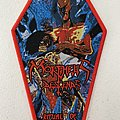 Morpheus Descends — Ritual of Infinity woven patch coffin