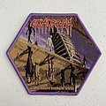 Gomorrah - Reflections of Inanimate Matter woven patch