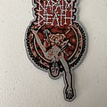 Napalm Death - Utopia Banished woven patch