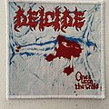 Deicide — Once Upon the Cross woven patch