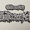 Gatecreeper logo woven patches