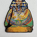 Iron Maiden - Powerslave shaped woven patch
