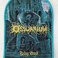 Ossuarium — Living Tomb woven patch